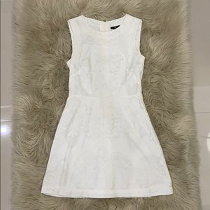 H&M white mini dress